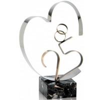 Figura Bodas de Plata regalo 25 aniversario