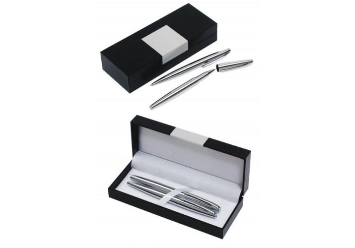 Bolígrafo y roller GRABADOS alta calidad con estuche