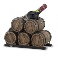 Porta-botella de vino barricas GRABADO