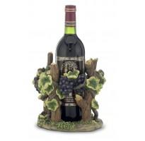 Porta-botella de vino cepa GRABADO