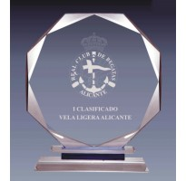Cristal grabado alta calidad 36068-2-3-4-5-6-7-8