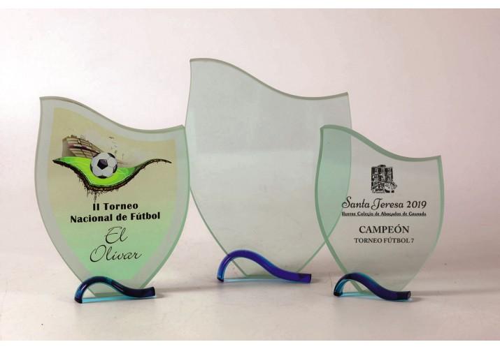 Cristal grabado Alta Calidad 5025 premio personalizado fútbol