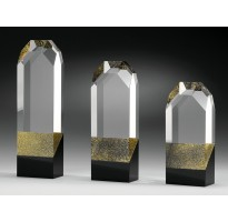 Cristal grabado óptico LÍNEA LUJO Z-20-2315 homenaje