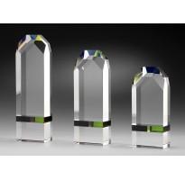 Cristal grabado óptico LÍNEA LUJO Z-20-2319 regalo empresa jubilación