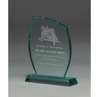 Cristal grabado Alta Calidad 5011 homenaje militar