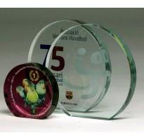 Cristal grabado económico 5026 regalos personalizados