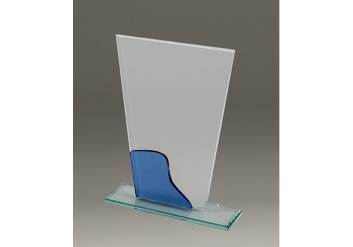 Cristal grabado económico 5077 para homenaje