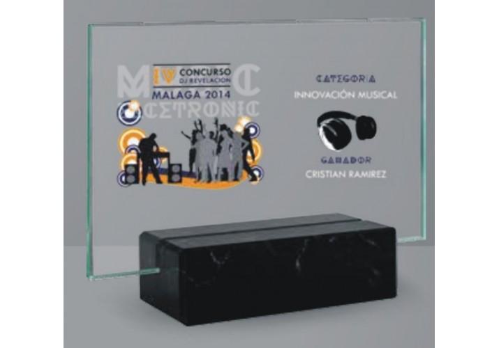 Cristal grabado económico 3625-08-09-10