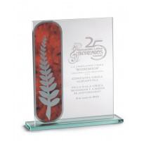 Cristal grabado Z-20-2360 regalo asociación agradecimiento