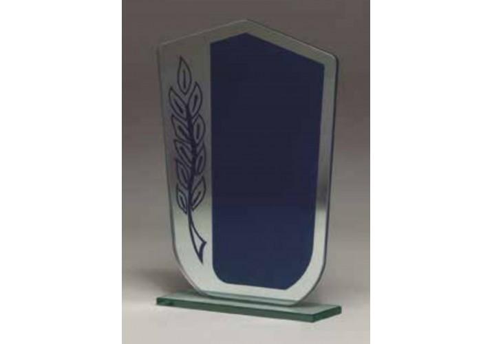 Cristal grabado económico 5069 dedicatoria láser