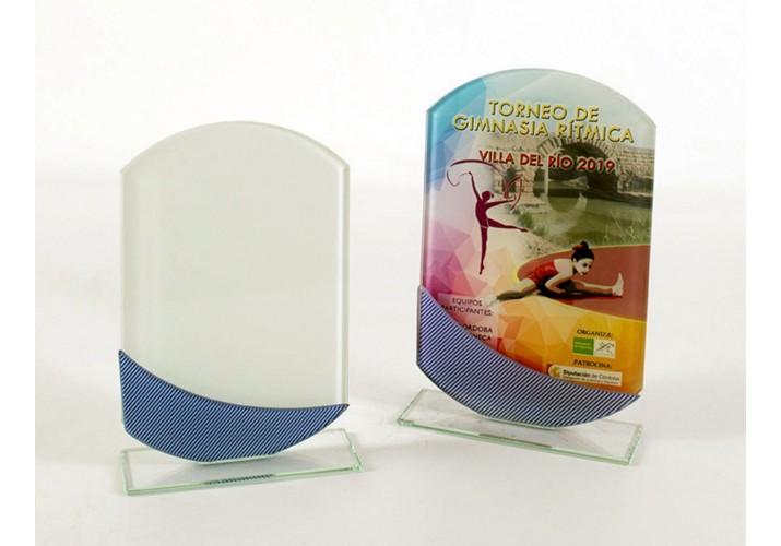 Cristal grabado 5092 premios personalizados