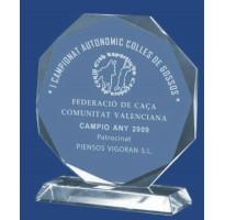 Cristal grabado económico 5005 premios personalizados