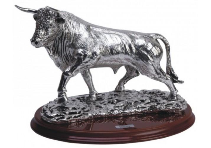 Figura Toro grabada regalo o decoración