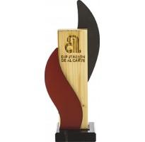Trofeos madera grabados 8348