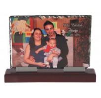 Placa de homenaje de pizarra 5199 regalo para padrinos bautizo