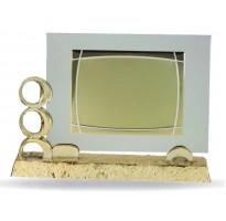 Placa bodas de oro M-6837