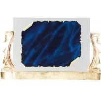 Placa en cristal grabada M-6830