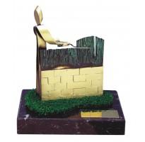 Figura regalo Jardinero grabada