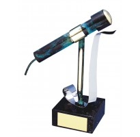 Figura micrófono regalo cantante grabada