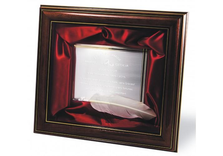 Placas de homenaje en cuadro 16-7655