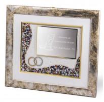 Placas de homenaje en cuadro 16-7661