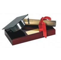 Figura regalo graduación grabado