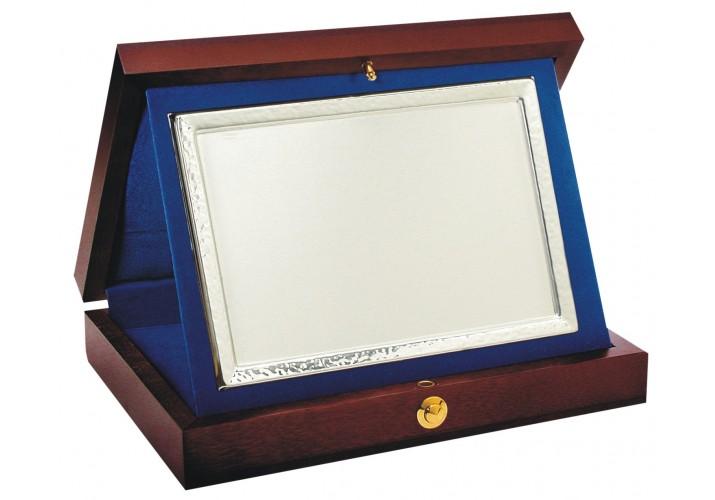Placa de homenaje grabada ALPACA 182021