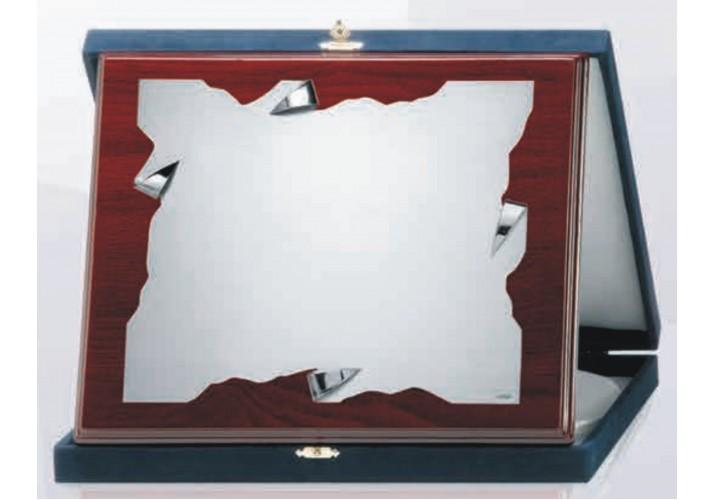 Placa de homenaje grabada ALPACA SOL-013-1-2