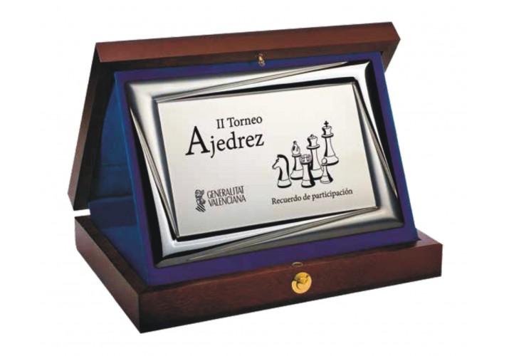 Placa de homenaje grabada ALTA CALIDAD 18219-7-8