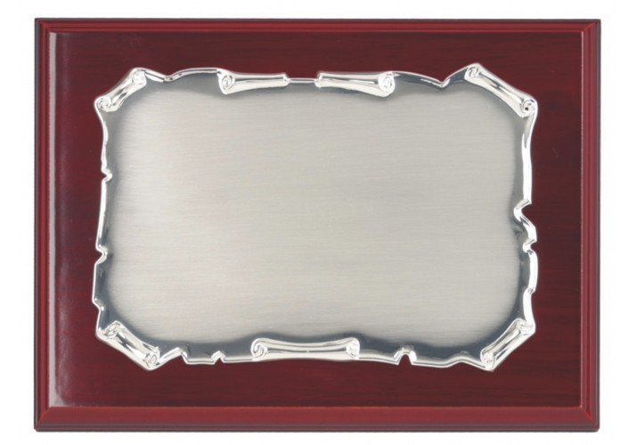 Placa de homenaje pergamino grabada ALTA CALIDAD 97229