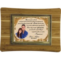 Placa de homenaje grabada ALTA CALIDAD 97289