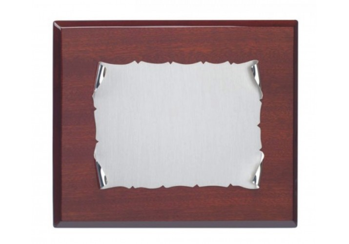 Placa de homenaje grabada PLATA DE LEY VN-215123-13