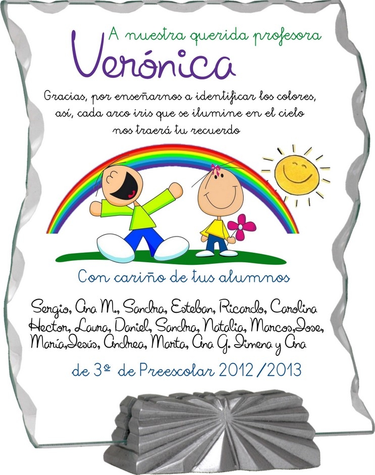 1000 images about regalo maestras on pinterest father 39 s for Carta de despedida para una maestra de jardin